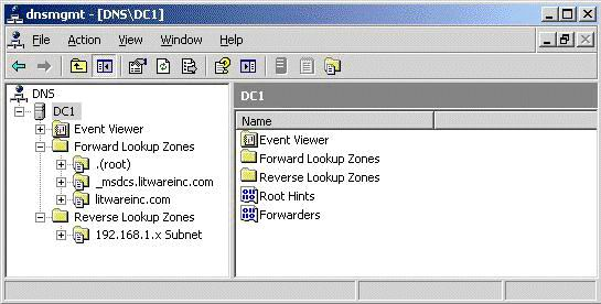 how to find the domain name using command prompt