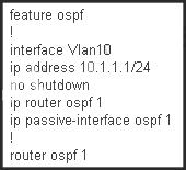 Q 73805: Which configuration is used to route the IP su