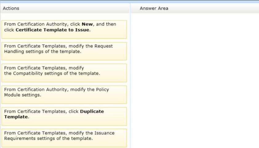 Q102752 which three actions should you perform in seq which three actions should you perform in sequence to answer move the appropriate three actions from the list of actions to the answer area and arrange yadclub Image collections